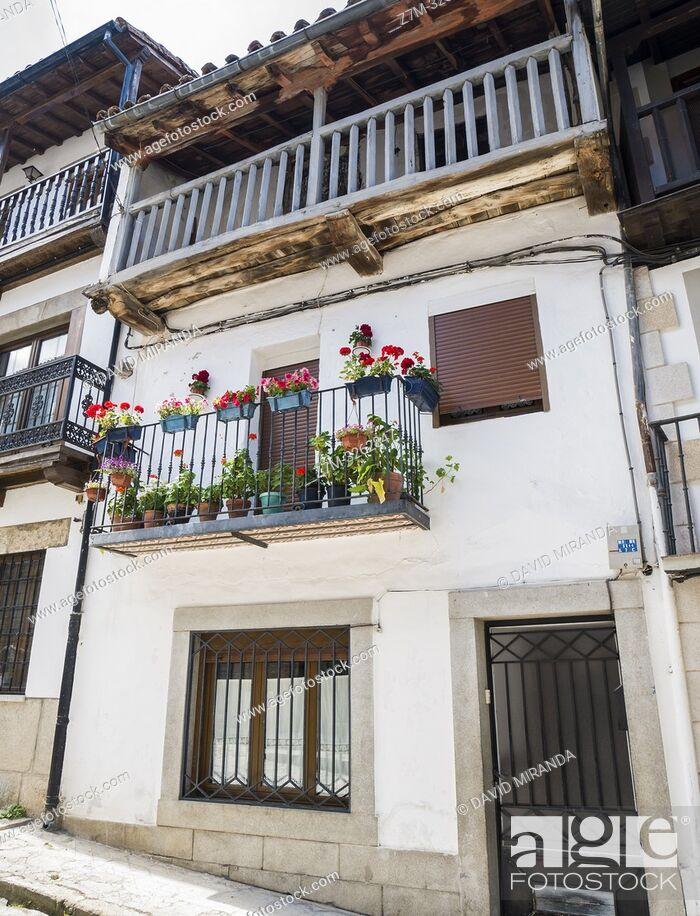 Stock Photo: Arquitectura tradicional. Candelario. Salamanca. Castilla León. España.