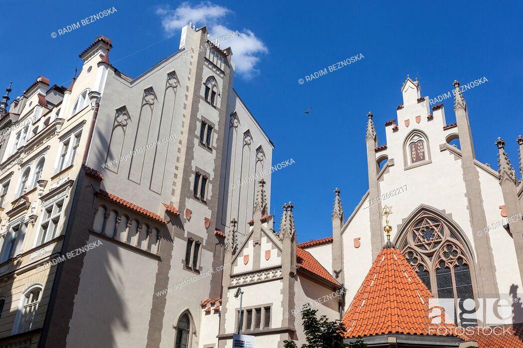 Imagen: Maisel Synagogue, Jewish Quarter, Old Town, Josefov, Prague, Czech Republic.