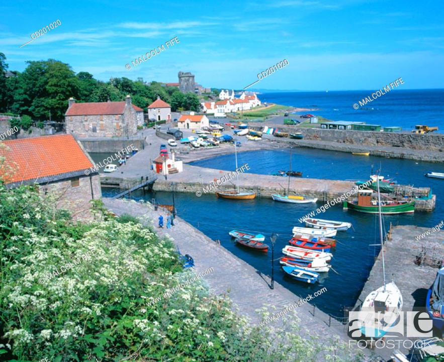 Stock Photo: Dysart. Fife. Scotland.