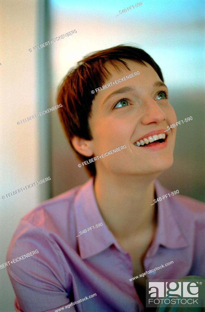 Stock Photo: Young Woman - Half-Portrait.