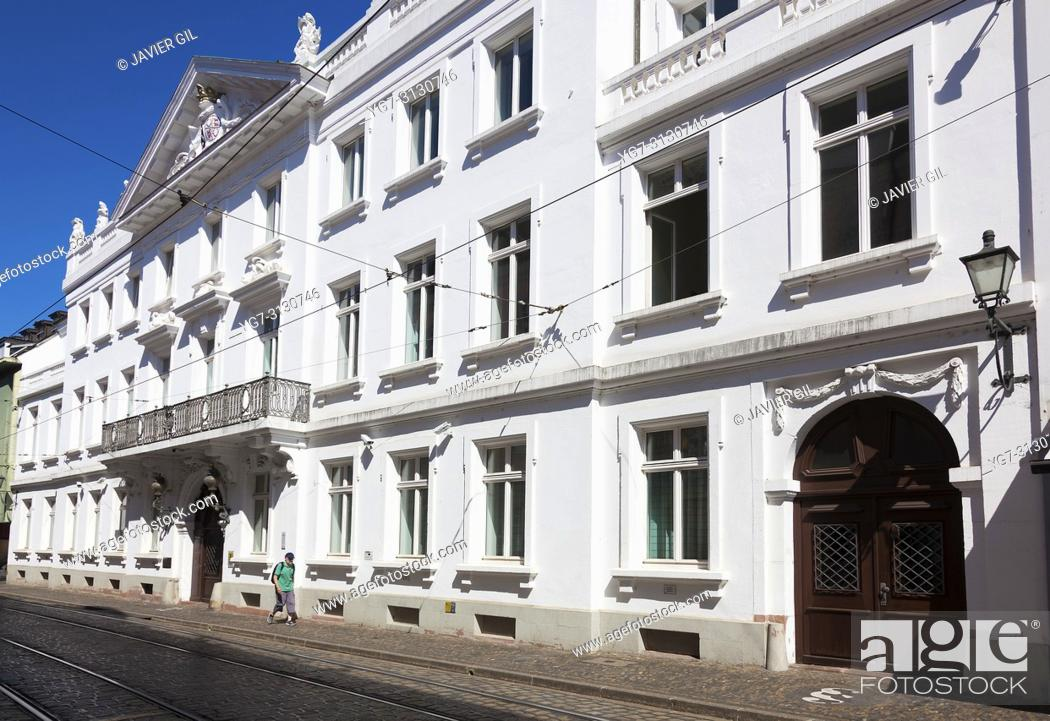 Stock Photo: Sickingen palace, Freiburg im Breisgau, Baden-Wurttemberg, Germany.