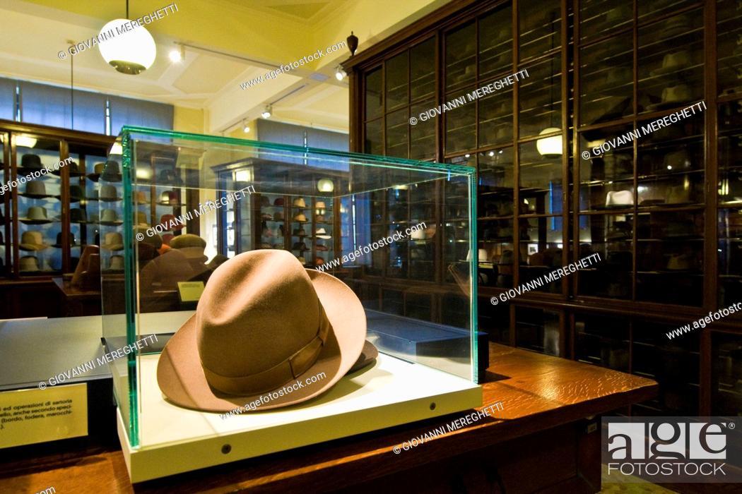 Stock Photo - museo del cappello borsalino 0519560834fe