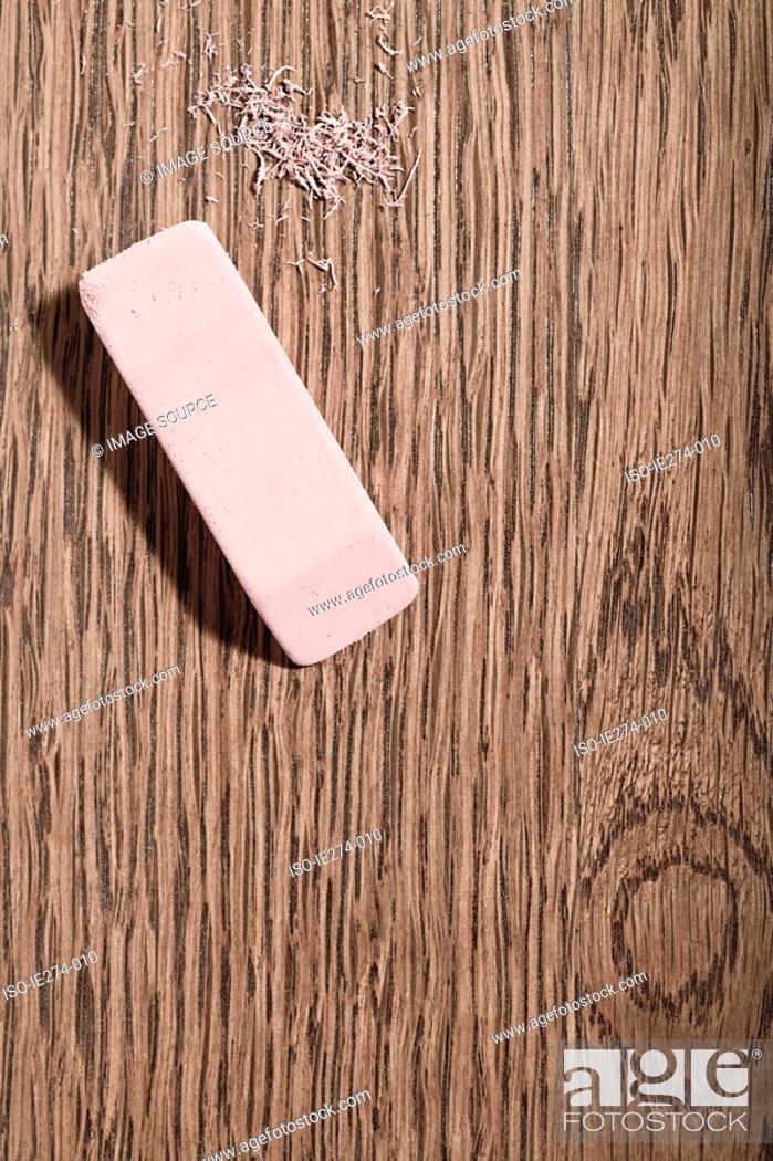 Stock Photo: Eraser.