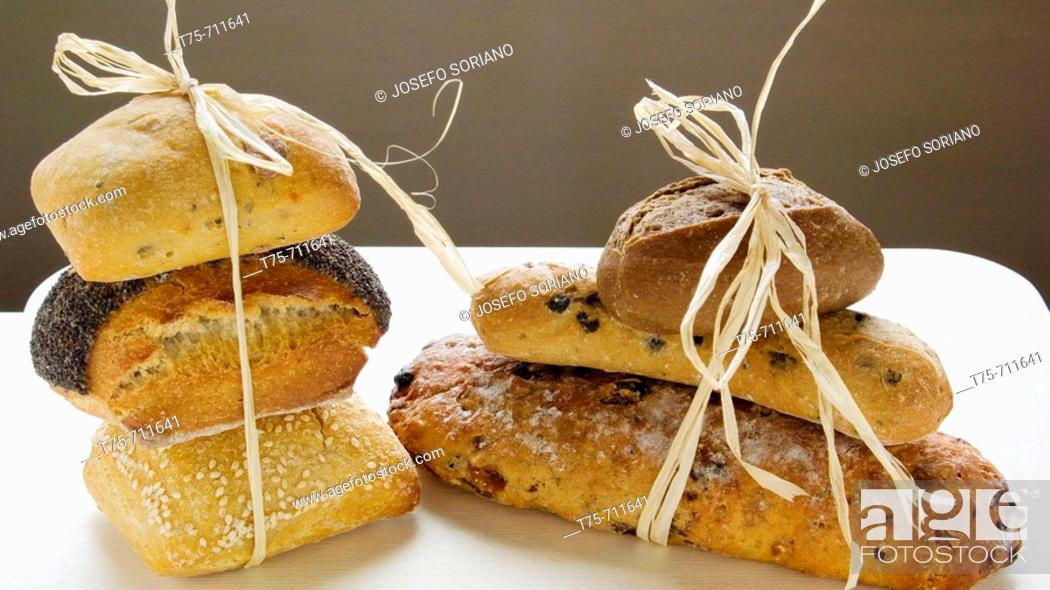 Stock Photo: Bread.