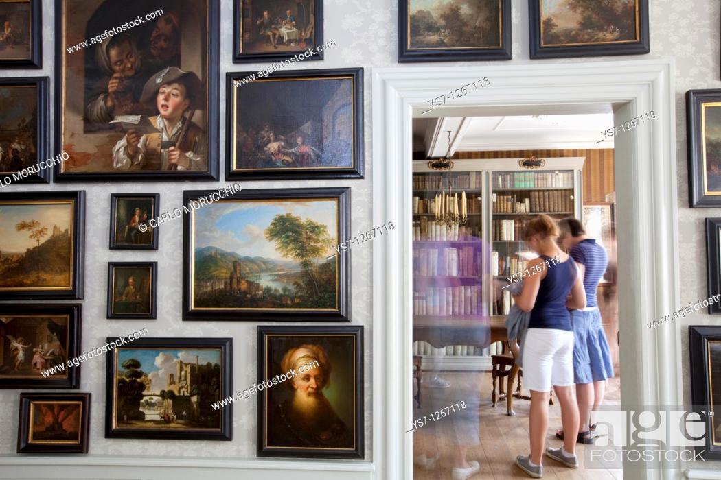 Stock Photo: Goethe house, Frankfurt, Germany.