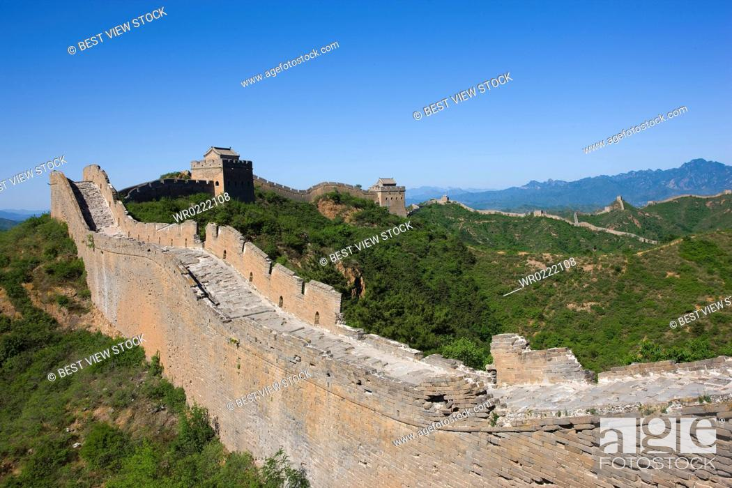 Photo de stock: Great Wall of China.