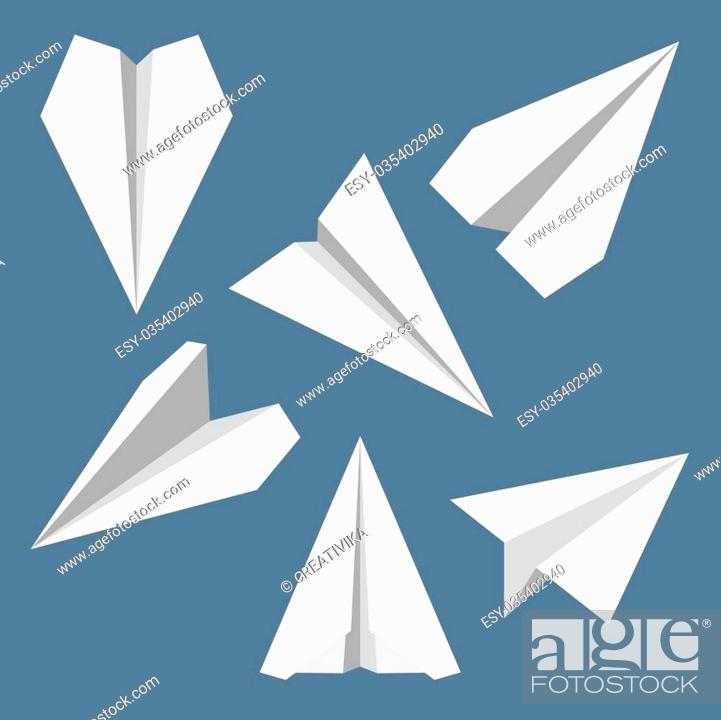 Origami Airplane Instructions | Free Printable Papercraft ... | 700x701