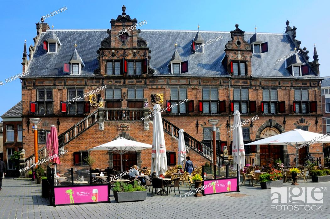 Stock Photo: Nijmegen, Netherlands. Waag (1612) on Grote Markt.