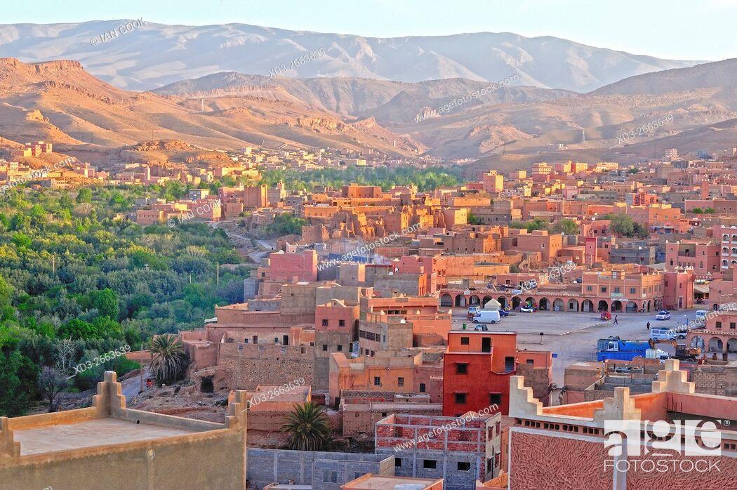 Stock Photo: Boumalne Dades, Tinghir Province, Morocco.