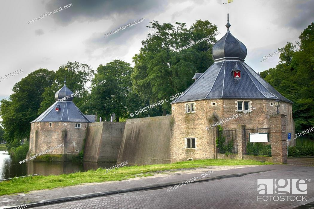 Stock Photo: The KMA (Royal Military Academy in Breda, the Netherlands.