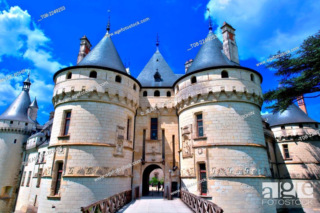 Imagen: france, 41, loire castles : chaumont castle.