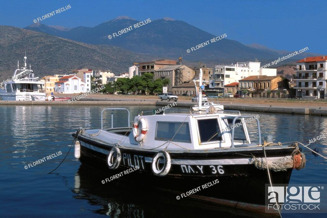 Stock Photo: Greece - Central Greece - Itea - Parnasse Mount.