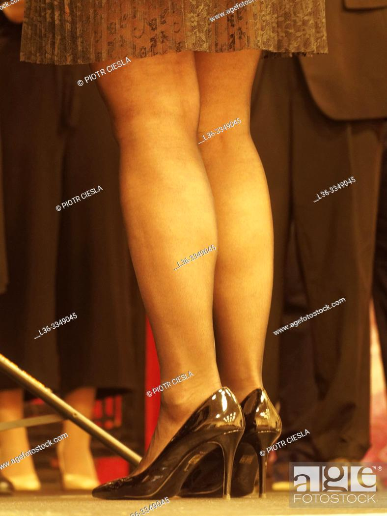 Stock Photo: Woman's legs. Poland.