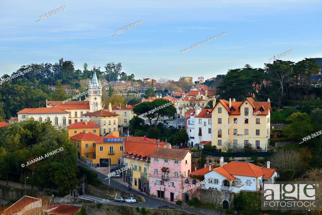 Stock Photo: Sintra, Lisbon, Portugal, Europe.