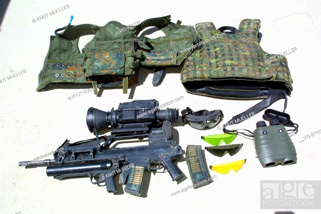 Neue infanterie bewaffnung der bundeswehr: gewehr g 36 mit