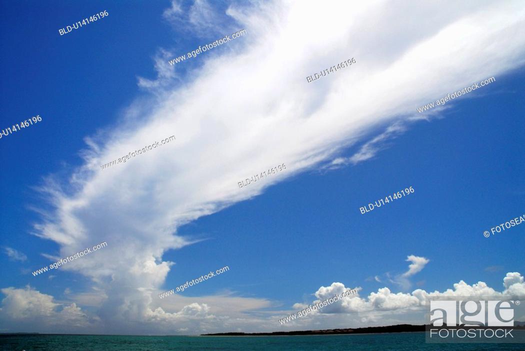 Stock Photo: Cloud.