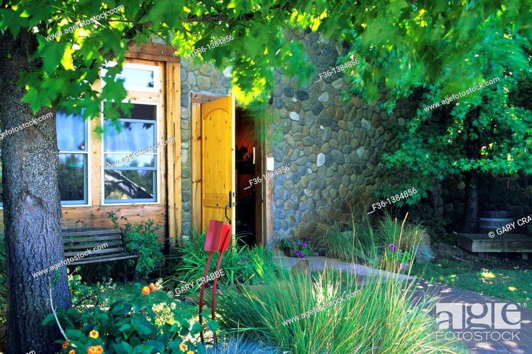 Stock Photo: Shenandoah Vineyards, near Plymouth, Shenandoah Valley, Amador County, California.