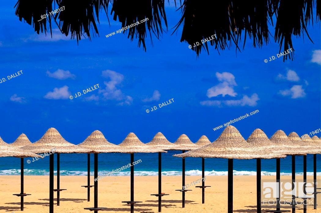 Stock Photo: Almaza Beach design by Mrs Dora El Chiaty, Marsa Matrouh, Egypt.