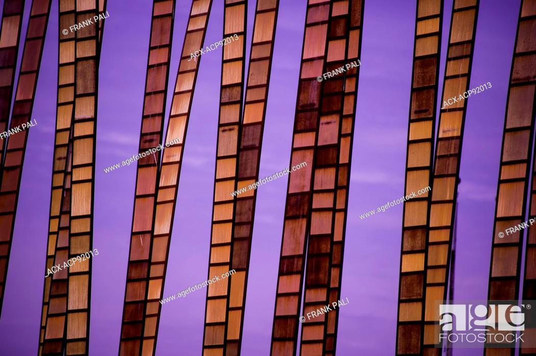 Stock Photo: EMP Museum, Experience Music Project, Seattle Centre, Seattle, Washington State, USA.