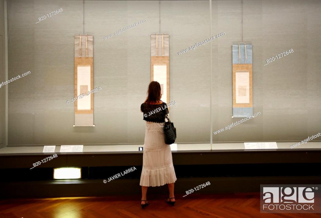 Stock Photo: Honkan, Japanese Gallery, Tokyo National Museum, Ueno, Tokyo, Japan.