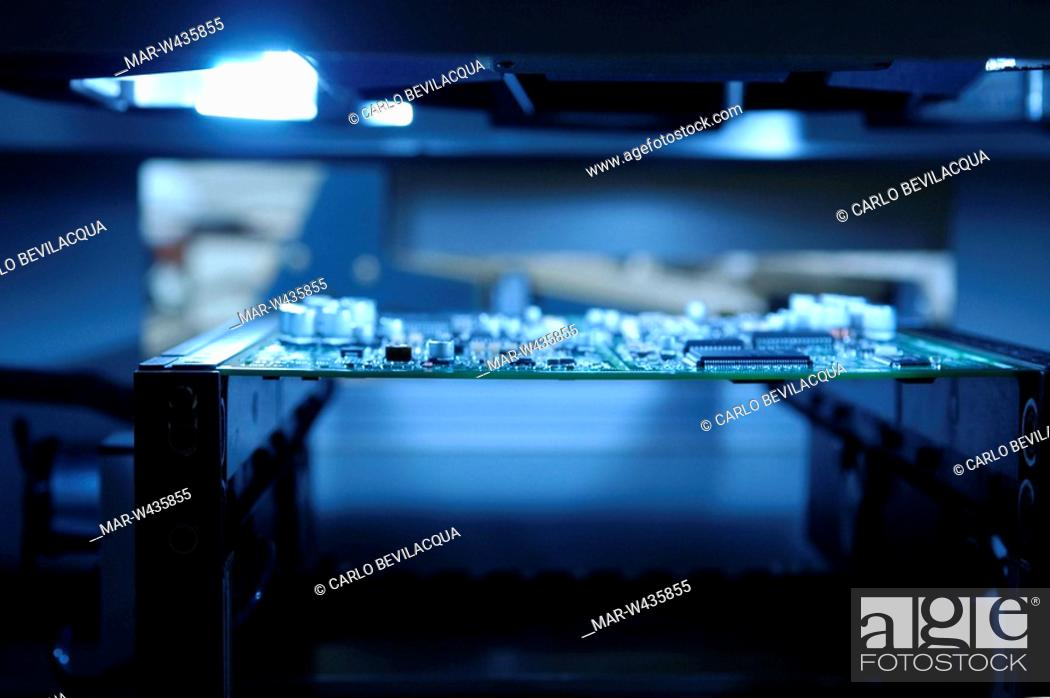 Stock Photo: gefran industry, systems and components for automation of industrial processes.