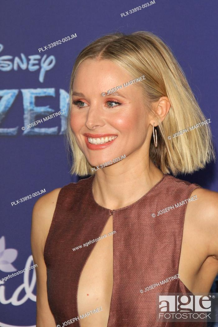 "Stock Photo: Kristen Bell at Disney's """"Frozen II"""" World Premiere held at the Dolby Theatre in Hollywood, CA, November 7, 2019. Photo Credit: Joseph Martinez / PictureLux."