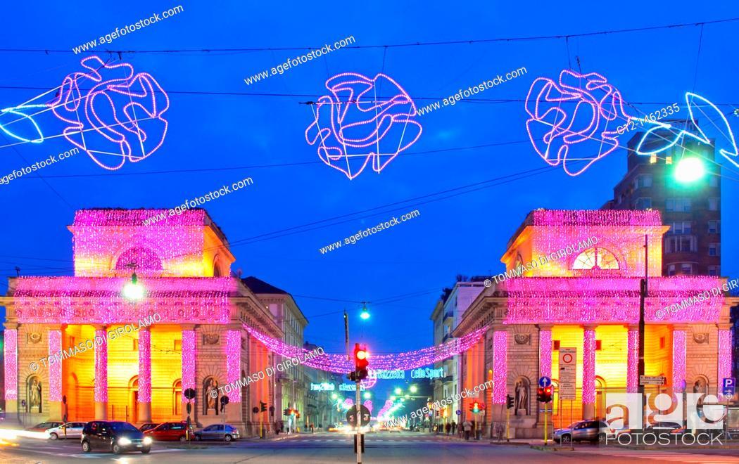 Stock Photo: Italy, Milan, Christmas.