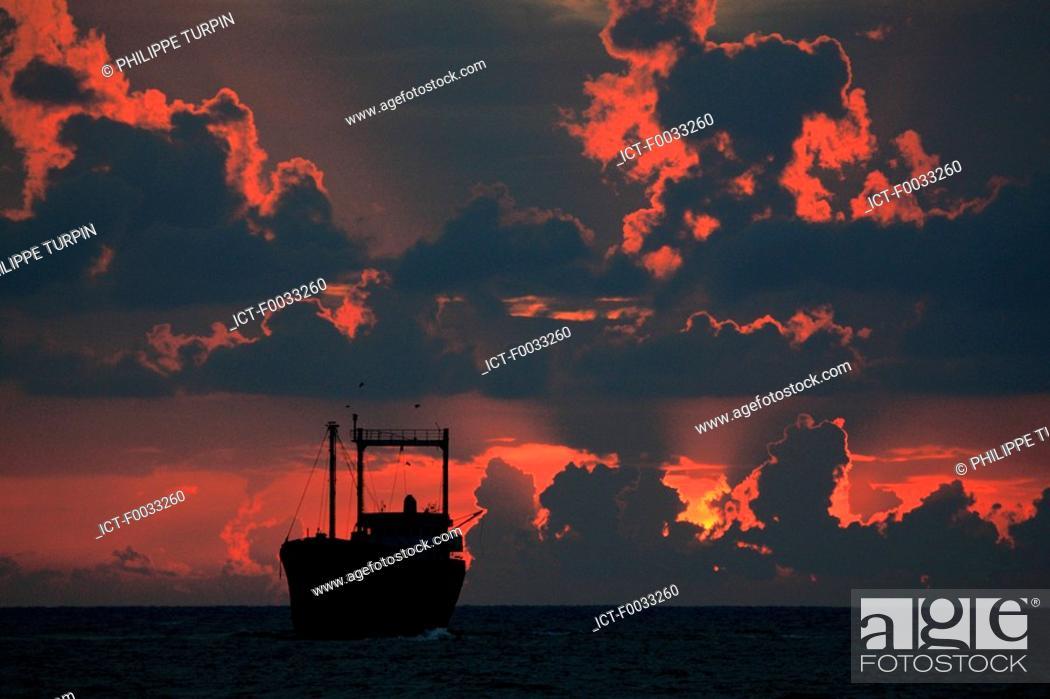 Stock Photo: Cyprus, near Paphos, wreck.