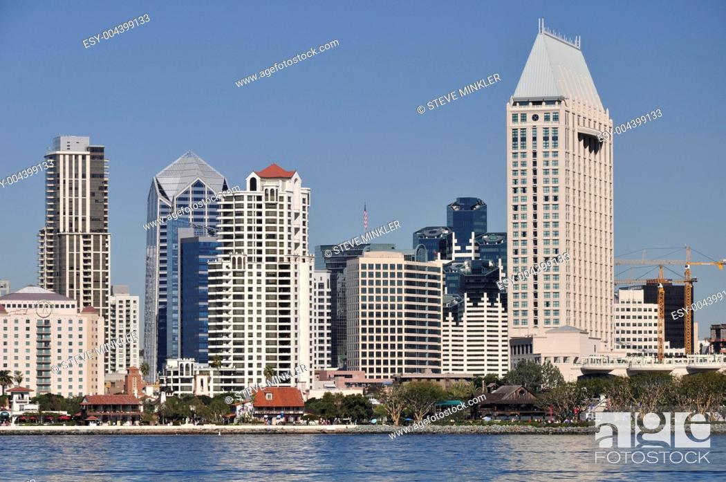 Stock Photo: Waterfront Towers.