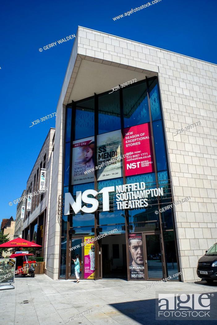 Stock Photo: Nuffield Southampton Theatres. Southampton, England.