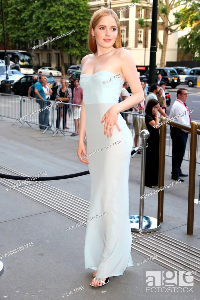 V A Summer Party Arrivals Featuring Ellie Bamber Where