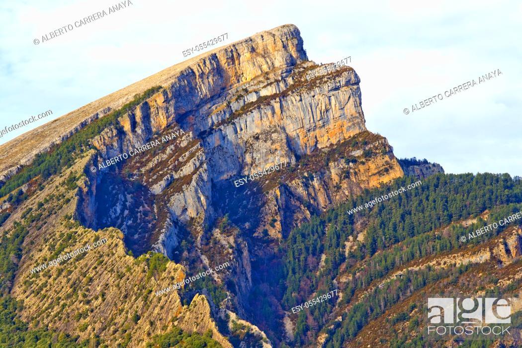 Imagen: Punta de las Olas, Cañón de Añisclo, Añisclo Valley, Geopark Area, Ordesa y Monte Perdido National Park, UNESCO Biosphere Reserve of Ordesa-Viñamala, Pyrennes.