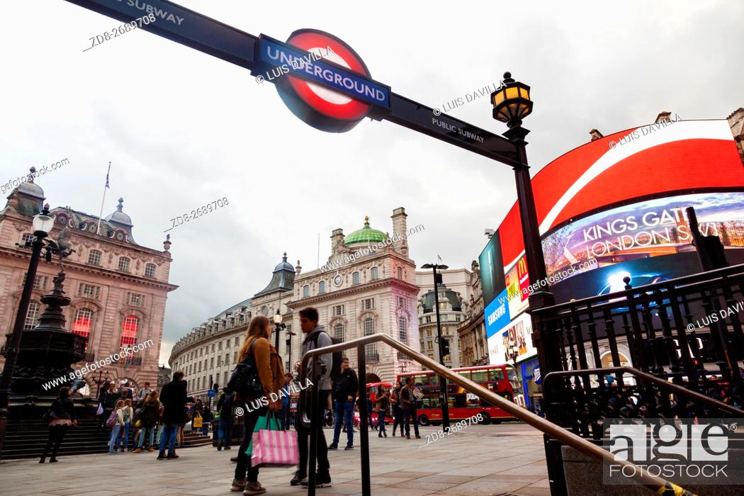 Imagen: Piccadilly Circus is a road junction and public space of London's West End in the City of Westminster, built in 1819 to connect Regent Street with Piccadilly.