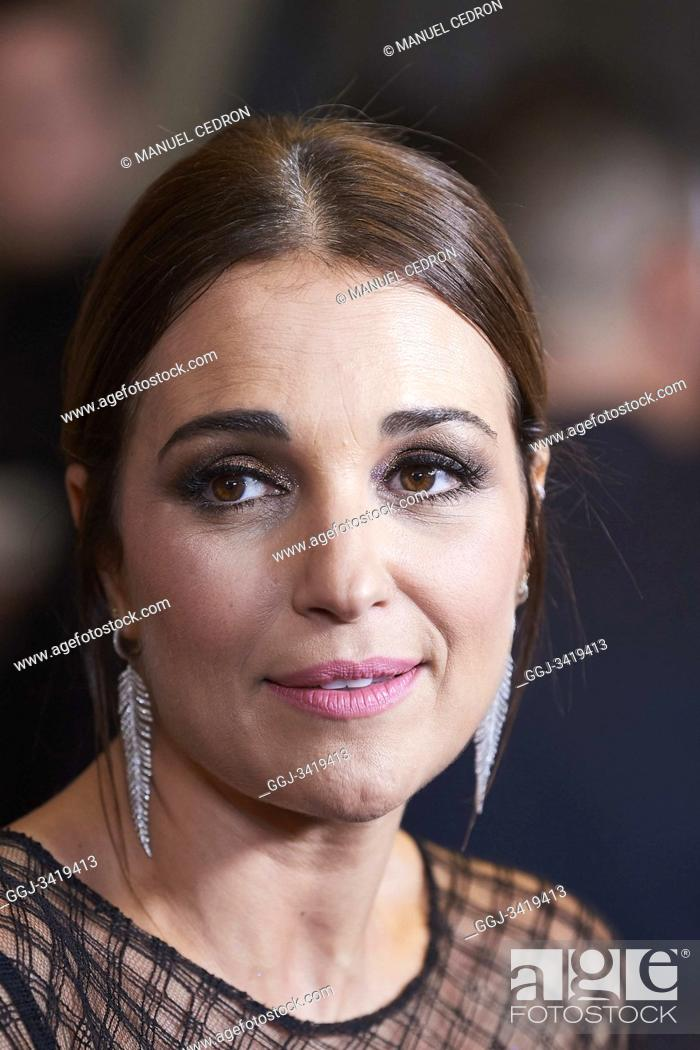 Stock Photo: Paula Echevarria attends GQ Men of the Year Awards 2019 at Palace Hotel on November 21, 2019 in Madrid, Spain.