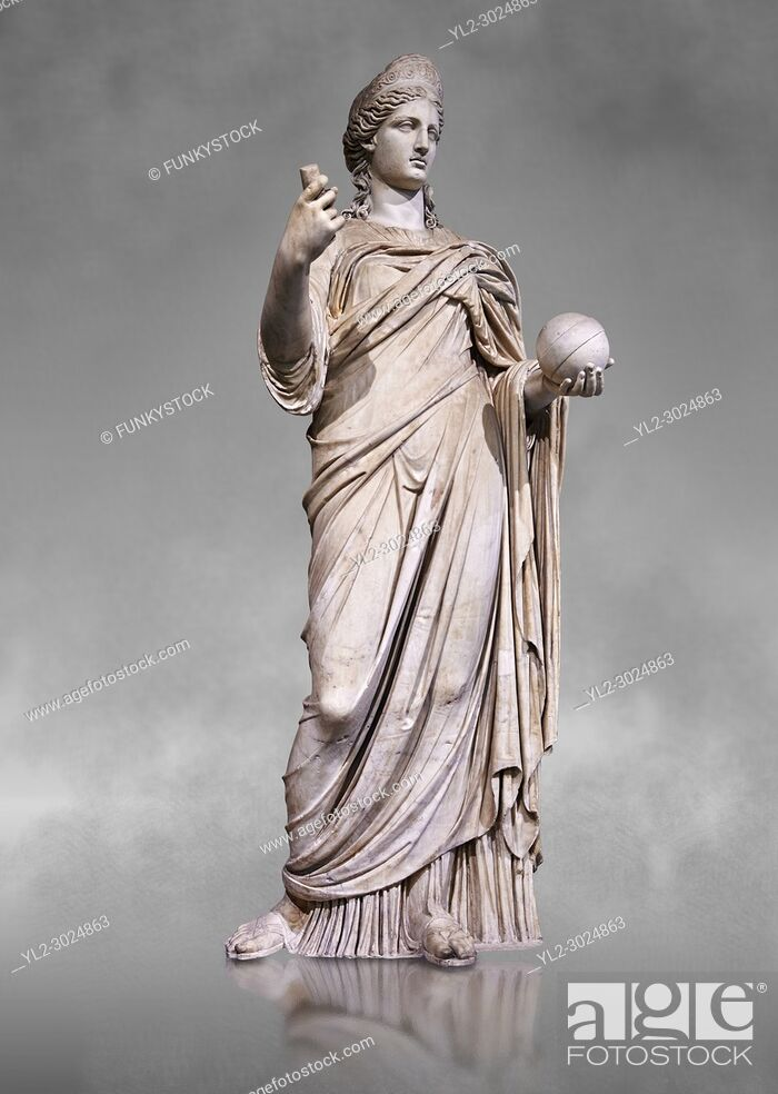 Stock Photo: Statue of Juno known as La Providence, a 2nd century AD Roman sculpture from Rome, Italy. Juno is an ancient Roman goddess.