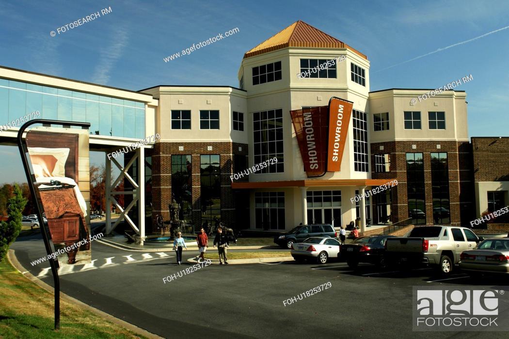 Stock Photo High Point Jamestown Nc North Carolina Furnitureland South Furniture Showroom
