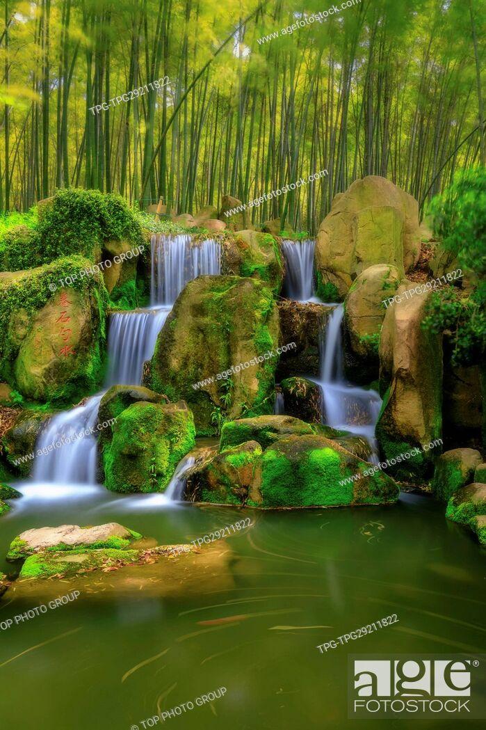 Stock Photo: Waterfall;Huqiul;China.