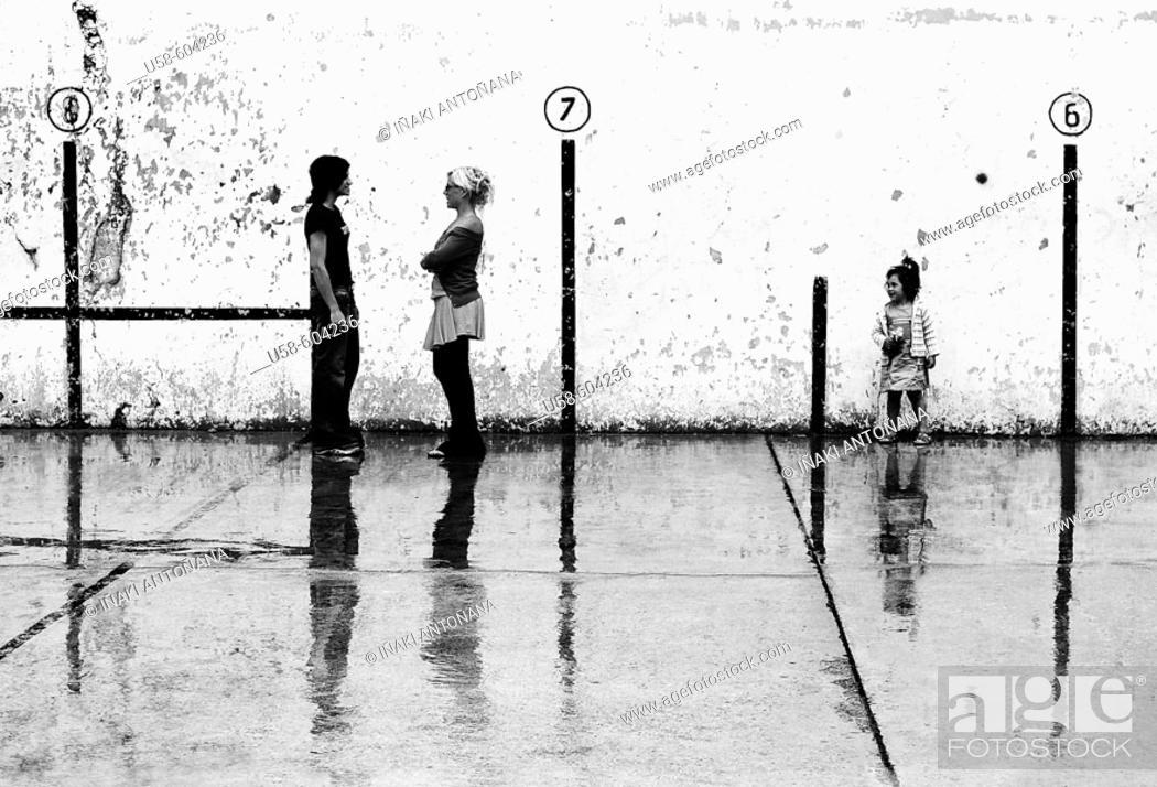 Imagen: Pelota court.