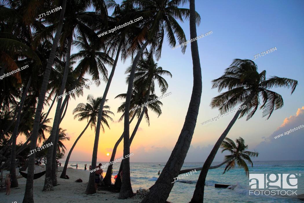 Maldives Maafushi Island Sunset
