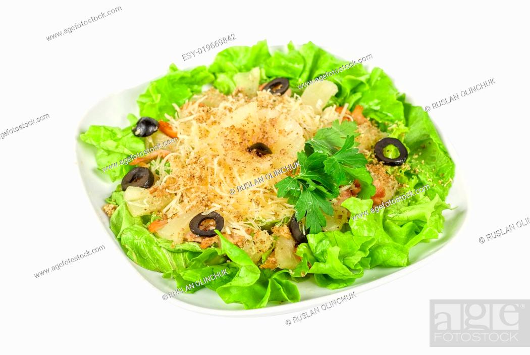 Stock Photo: greece salad.