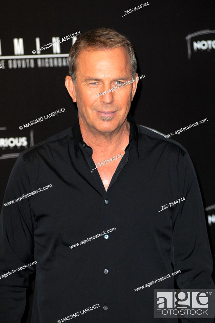 Stock Photo: kevin Costner; costner; actor; celebrities; 2016; rome; italy; event; photocall ; criminal.