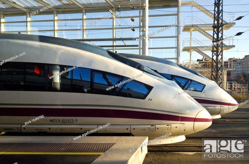 Stock Photo: Atocha train station  Madrid, Spain.