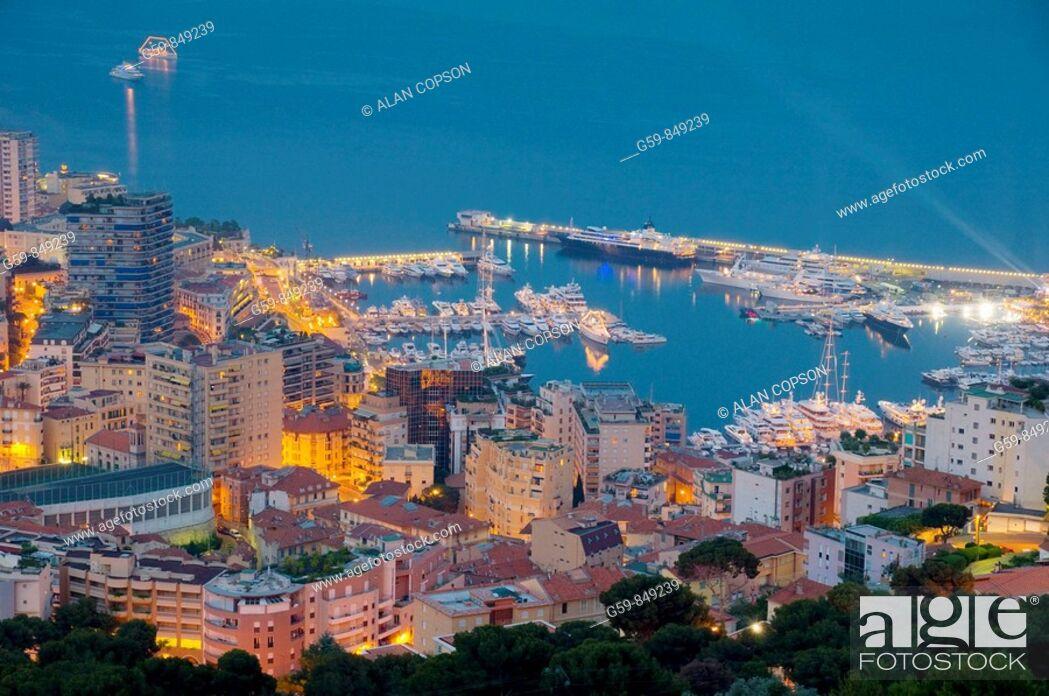 Stock Photo: Monaco Monte Carlo.