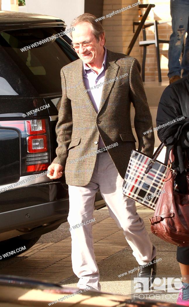 27d0f8b57b287 Stock Photo - Tommy Lee Jones spotted outside Barneys New York Featuring   Tommy Lee Jones Where  Beverly Hills