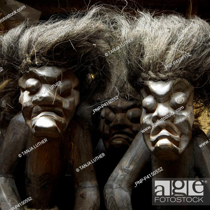Stock Photo: African figures.