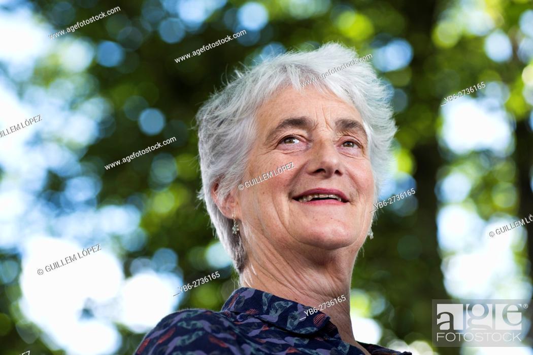 Edinburgh Scotland Monday 22nd August 2016 Scottish Poet Valerie