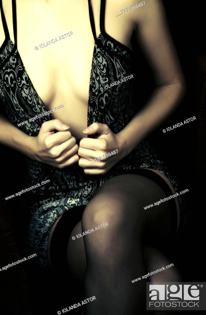 Stock Photo: Erotism.