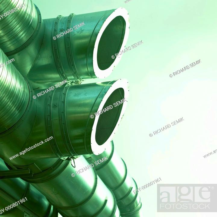 Stock Photo: pipelines.