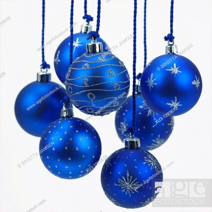 Stock Photo: Chrismas tree balls.