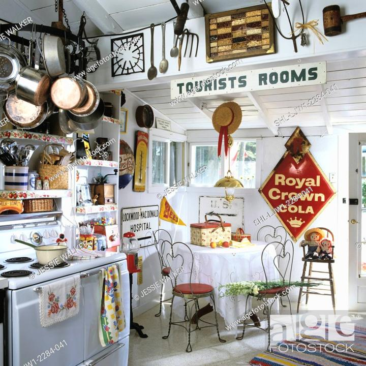 KITCHEN - Wood vacation home  Many antiques, collectibles